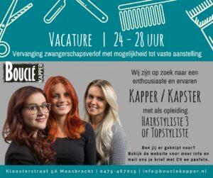 Boucle-Vacature